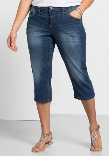Sheego 3/4-Jeans
