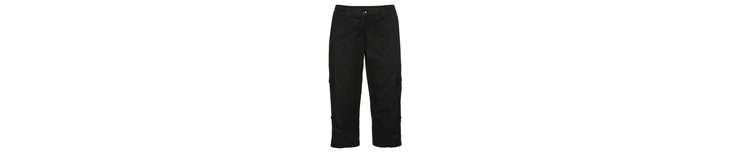 sheego Casual 3/4-Hose, mit Krempelfunktion
