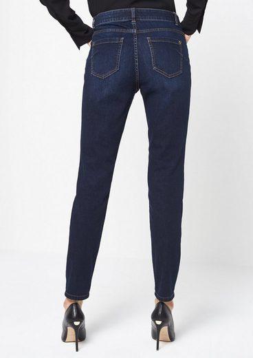 COMMA Klassische Jeans im Used-Look