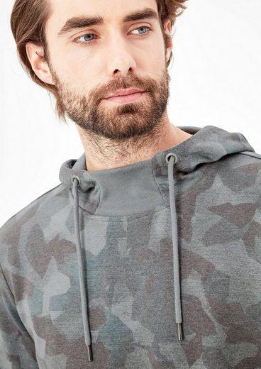 s.Oliver RED LABEL Sweatshirt mit Musterprint