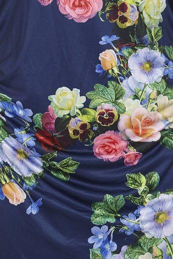 Y by Yumi Partykleid Indie, mit Raffung an der Seite