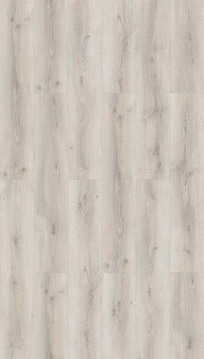 PARADOR Laminat »Basic 600«, Eiche Askada weiß gekälkt Naturstruktur