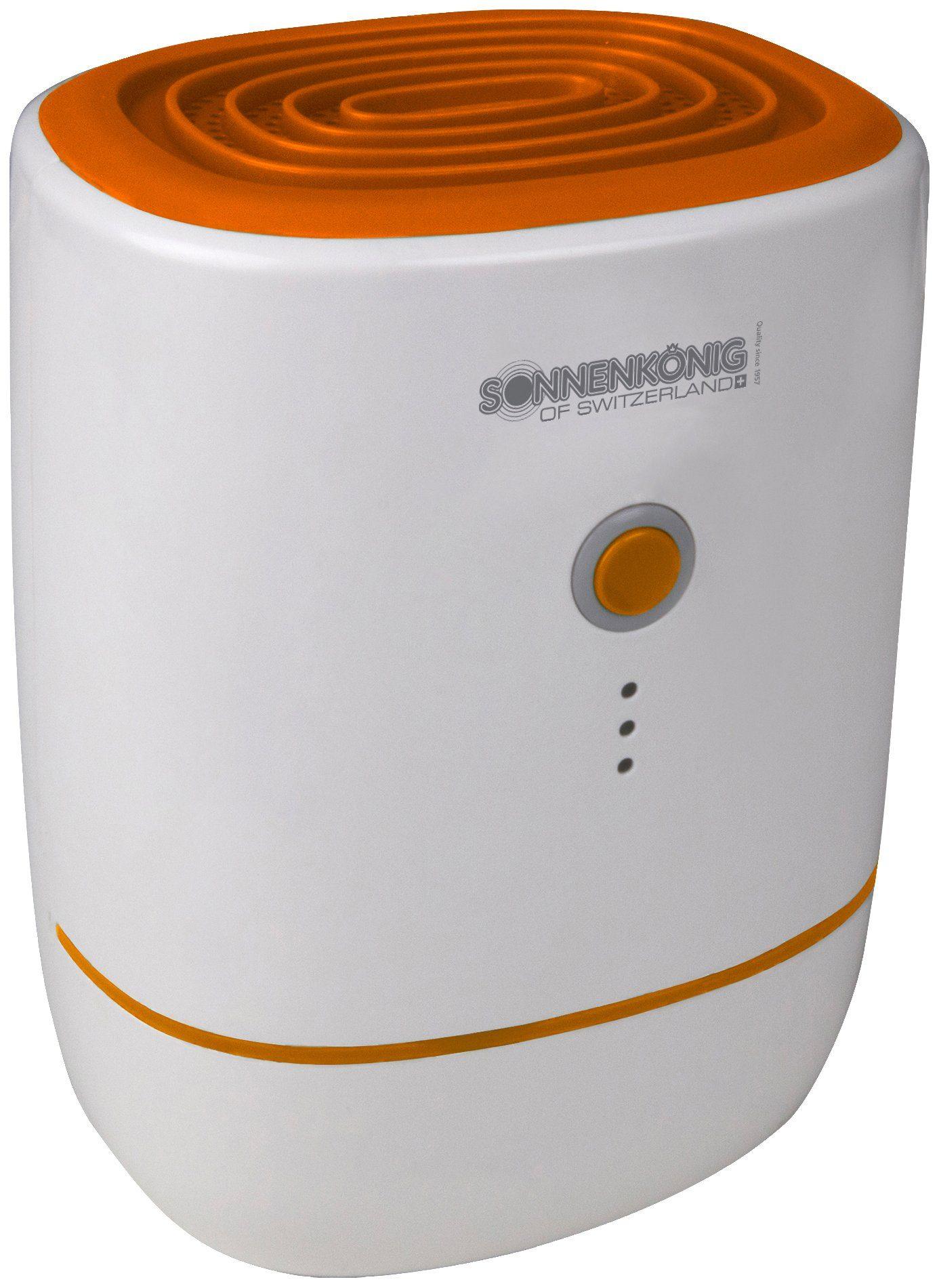 SONNENKÖNIG Luftreiniger »Secco Piccolo Orange«, 0,6 Liter Tank