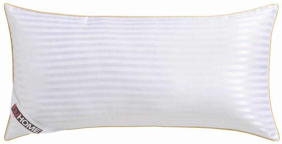 Microfaserkissen Samtweicher Jacquard My Home Fullung 100 Polyester Bezug 100 Polyester 1 Tlg Online Kaufen Otto