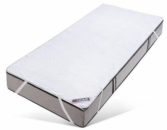 Matratzenauflage »Fleece«, my home, (1-tlg), wasserdicht und atmungsaktiv aber zugleich kuschelig und wärmend