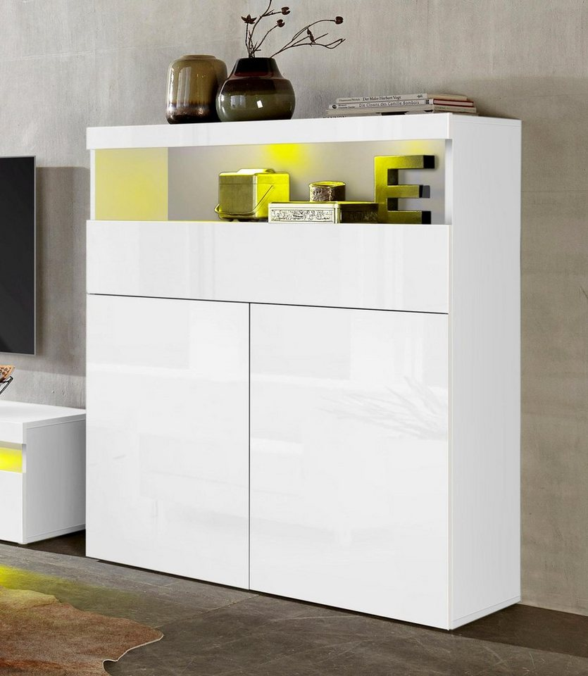 tecnos highboard breite 100 cm online kaufen otto. Black Bedroom Furniture Sets. Home Design Ideas