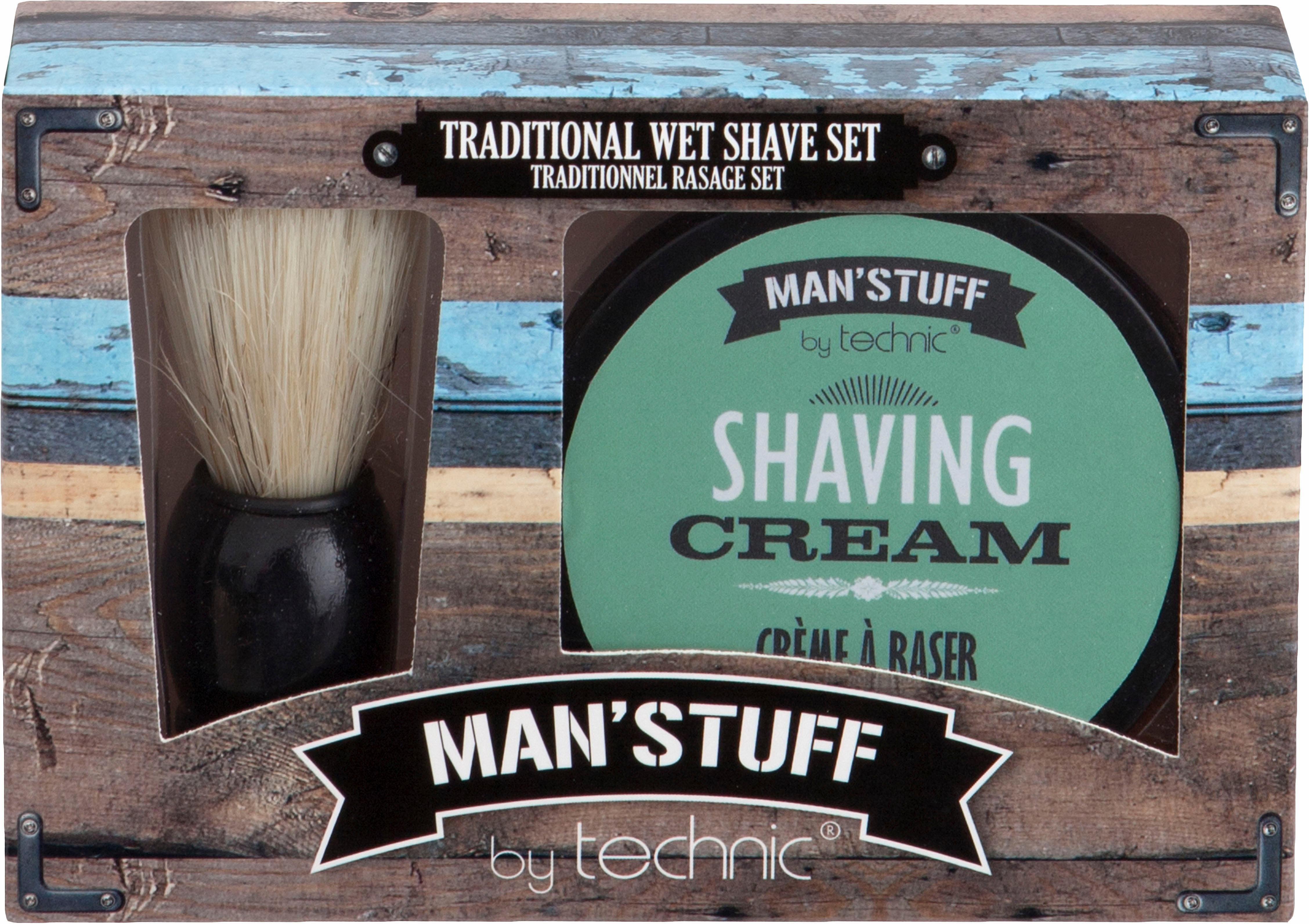 »Man'Stuff Close Shave«, Rasier-Set