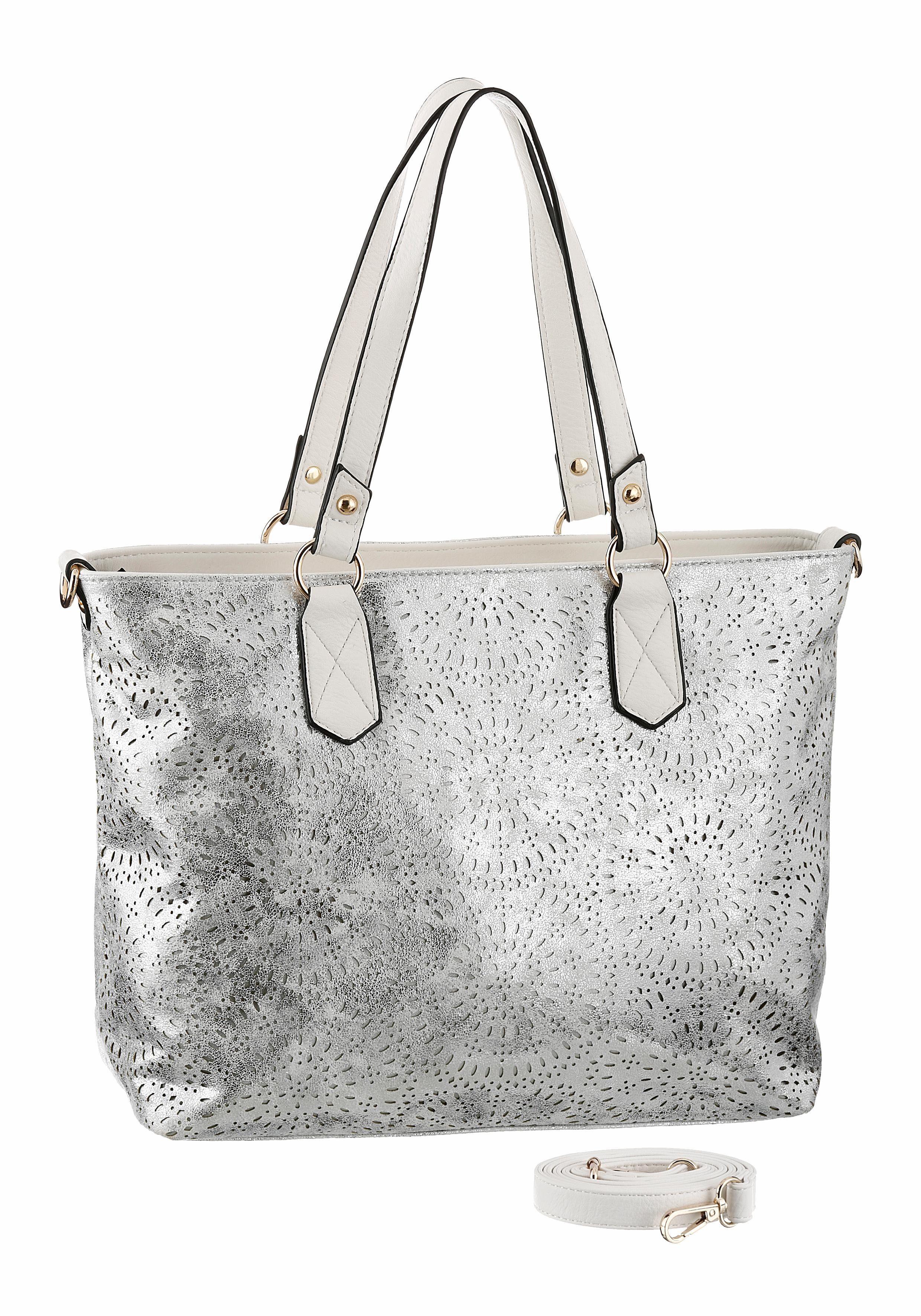 Herausnhembarer Reißverschluss Tasche Mit Rieker Shopper qtwgEgR
