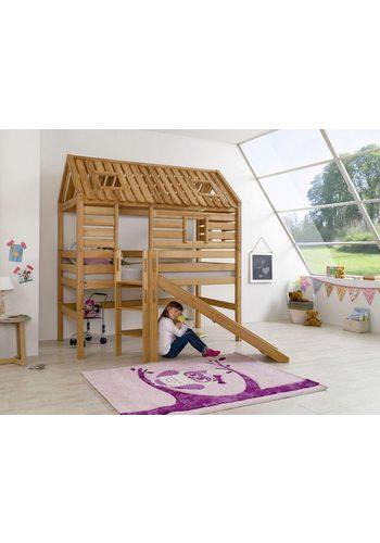 Relita Tom's Holzhütte Eliyas, mit Dachaufbau   