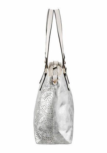 Shopper Rieker Tasche Reißverschluss Mit Herausnhembarer dqnWZ7Uq