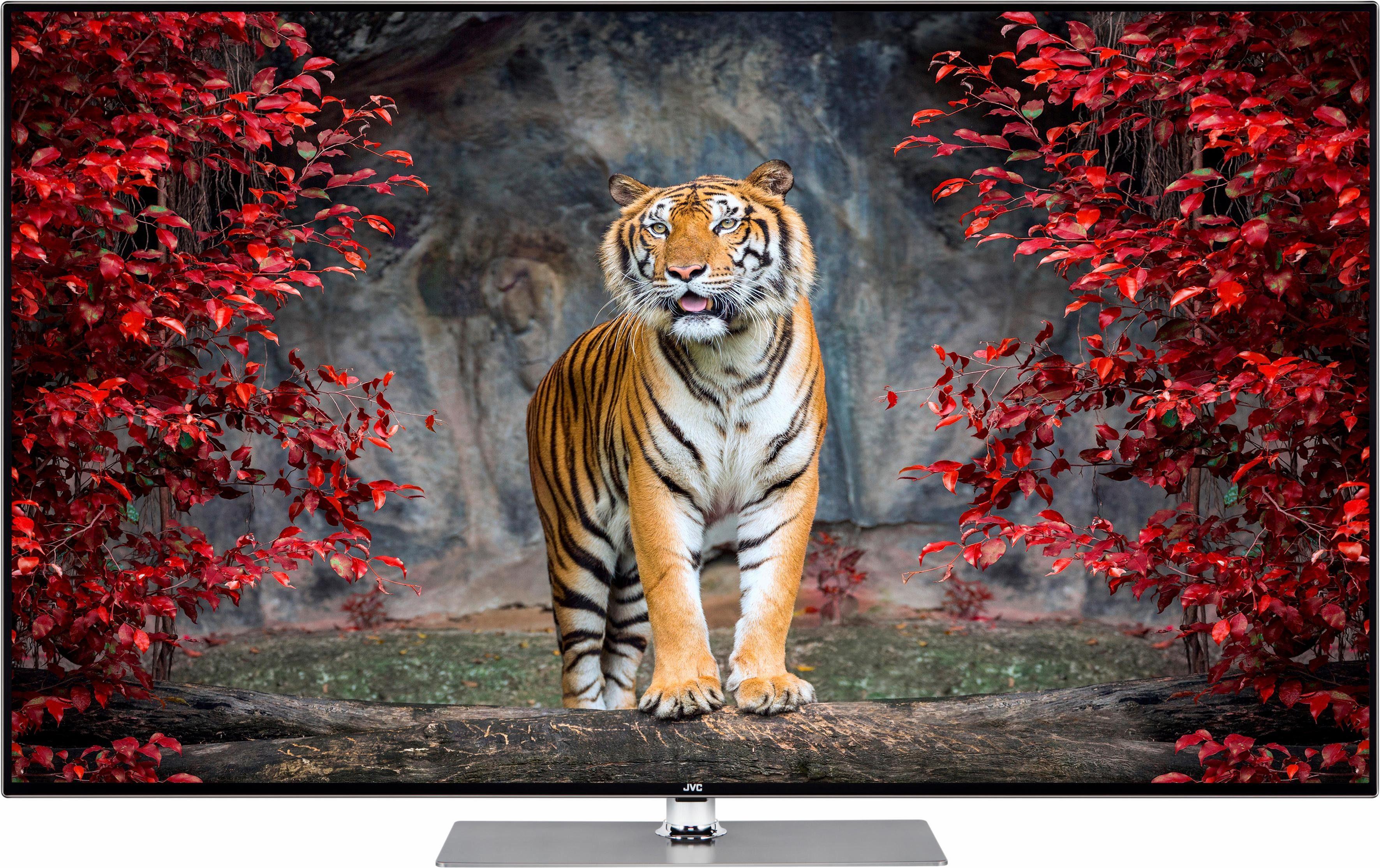 JVC LT-55VU93J LED-Fernseher (139 cm/55 Zoll, 4K Ultra HD, Smart-TV)