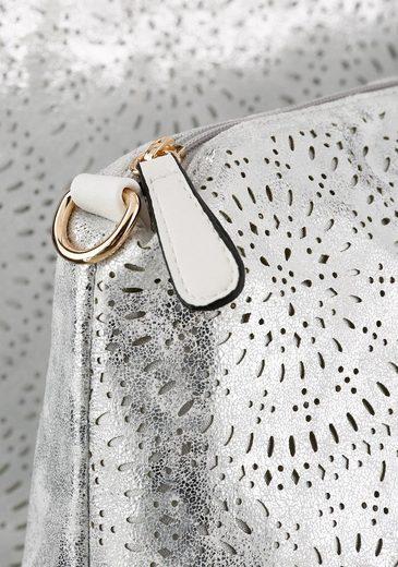 Reißverschluss Rieker Mit Tasche Herausnhembarer Shopper xw6ft6qS