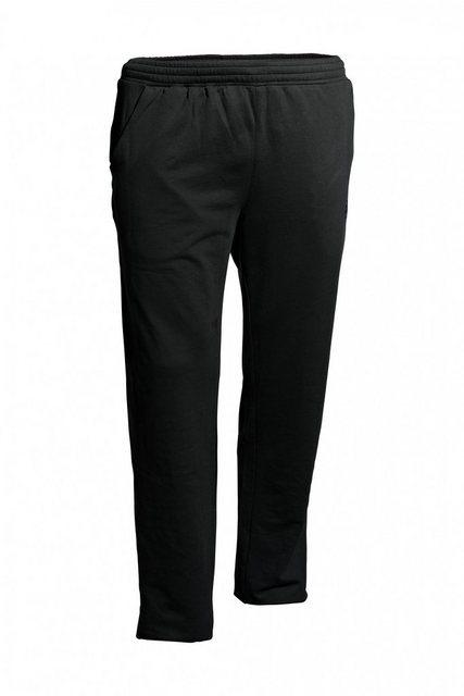AHORN SPORTSWEAR Sweatpants in sportlichem Look | Bekleidung > Hosen > Sweathosen | Schwarz | Polyester | AHORN SPORTSWEAR