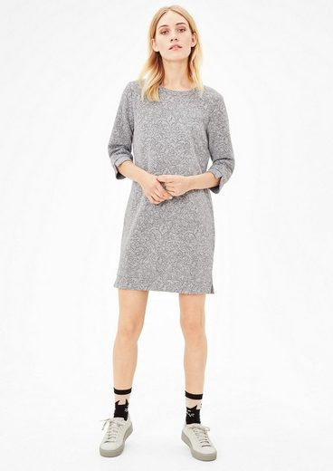 s.Oliver RED LABEL Sweatkleid mit Jaquard-Muster