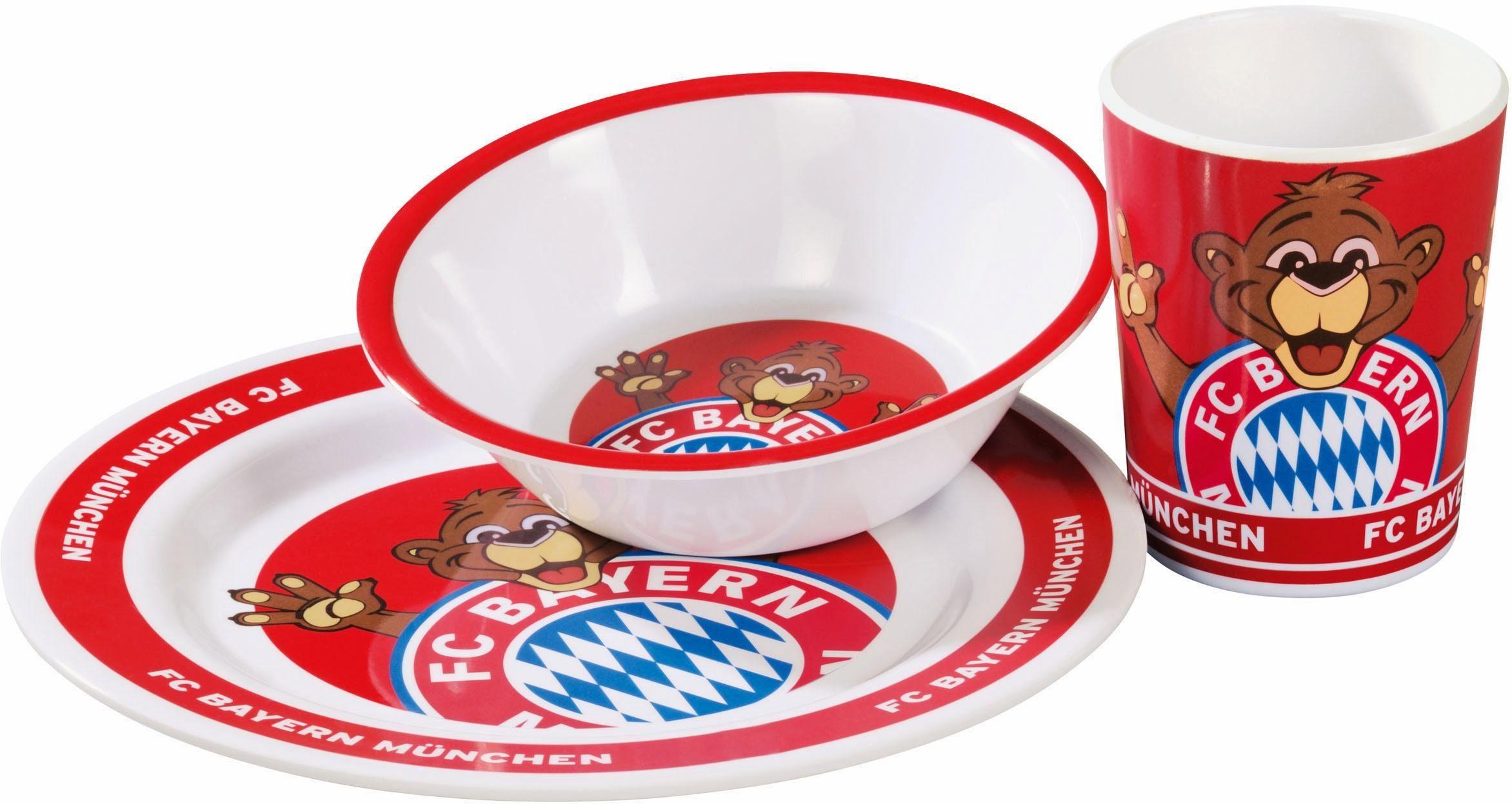 FC Bayern Kindergeschirr, »3er-Set«