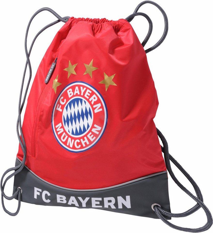 FC Bayern Sportbeutel,  FCB, rot  online kaufen
