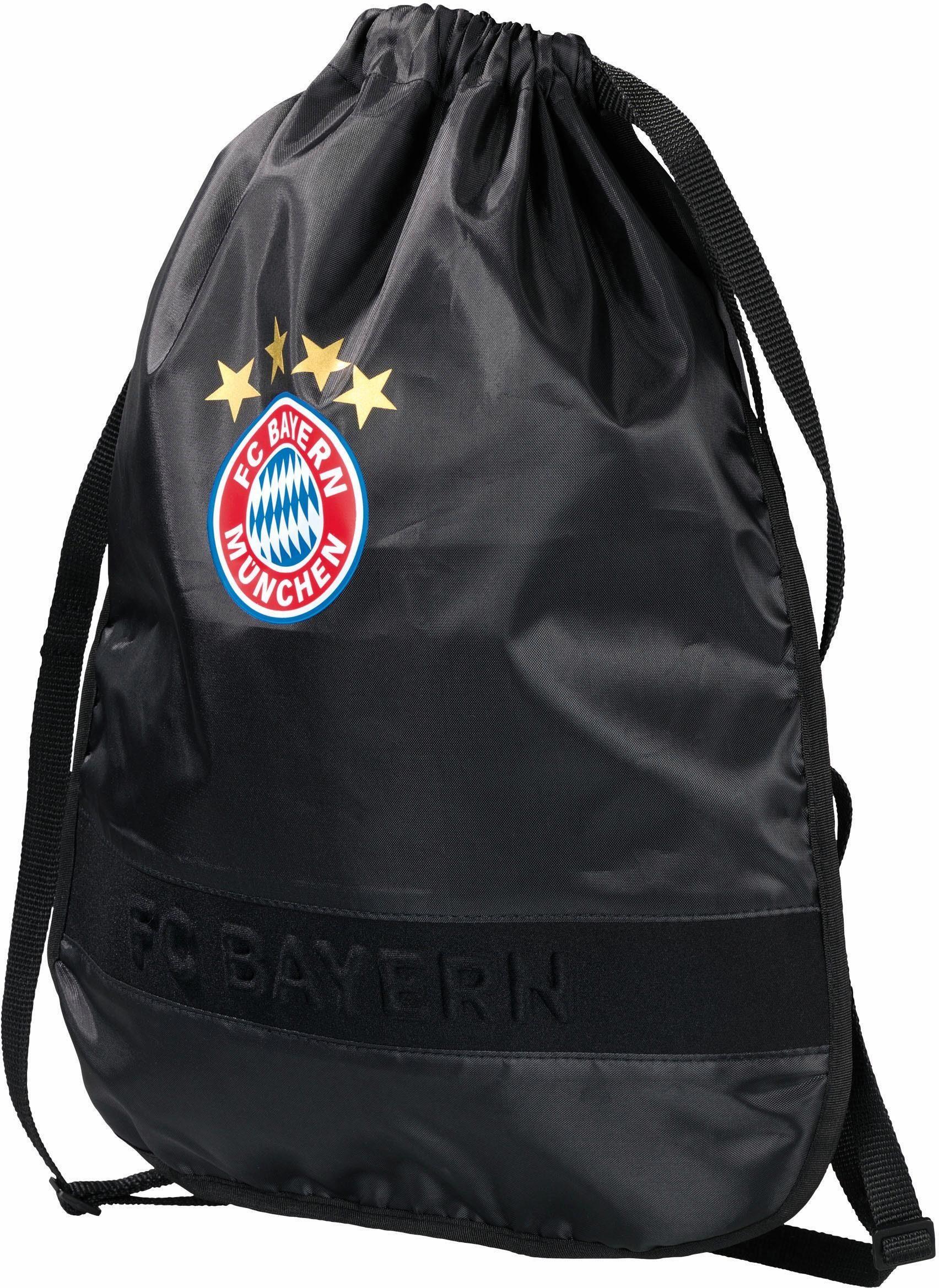 FC Bayern Sportbeutel, »FCB, schwarz«
