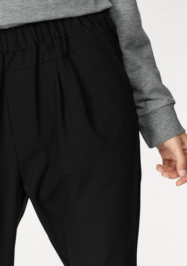 b.young Schlupfhose Enrikke mix pants, vorn und hinten in unterschiedlichem Material