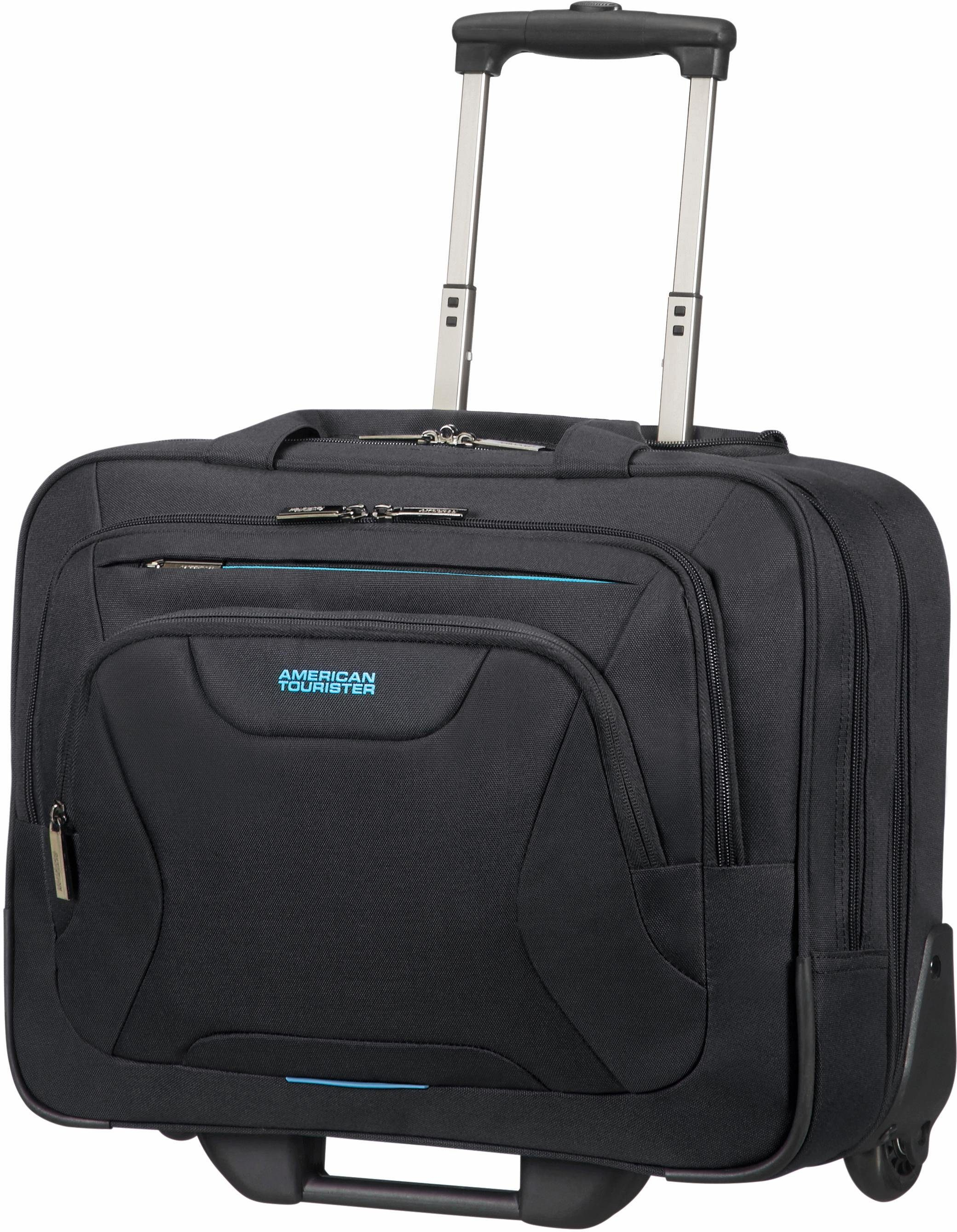 American Tourister Business Trolley mit 2 Rollen und Laptopfach, »At Work Rolling Tote«