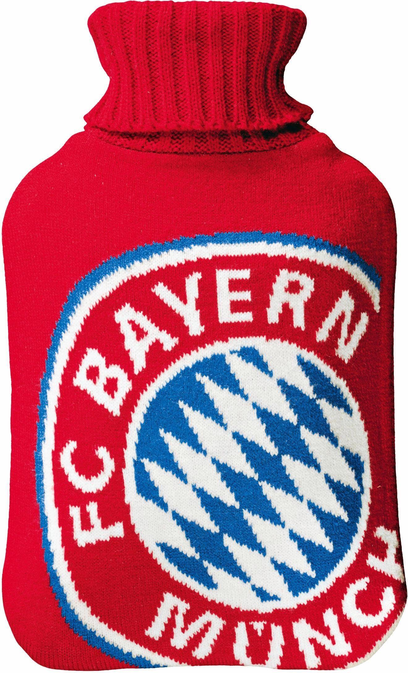 FC Bayern Wärmflasche, »Logo«