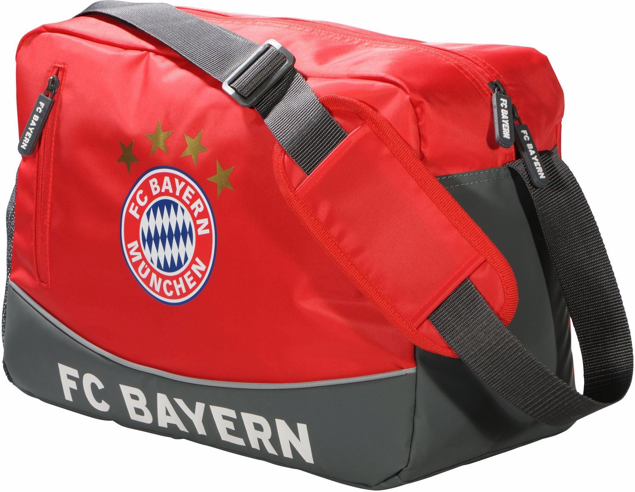 FC Bayern Schultertasche, »FCB«