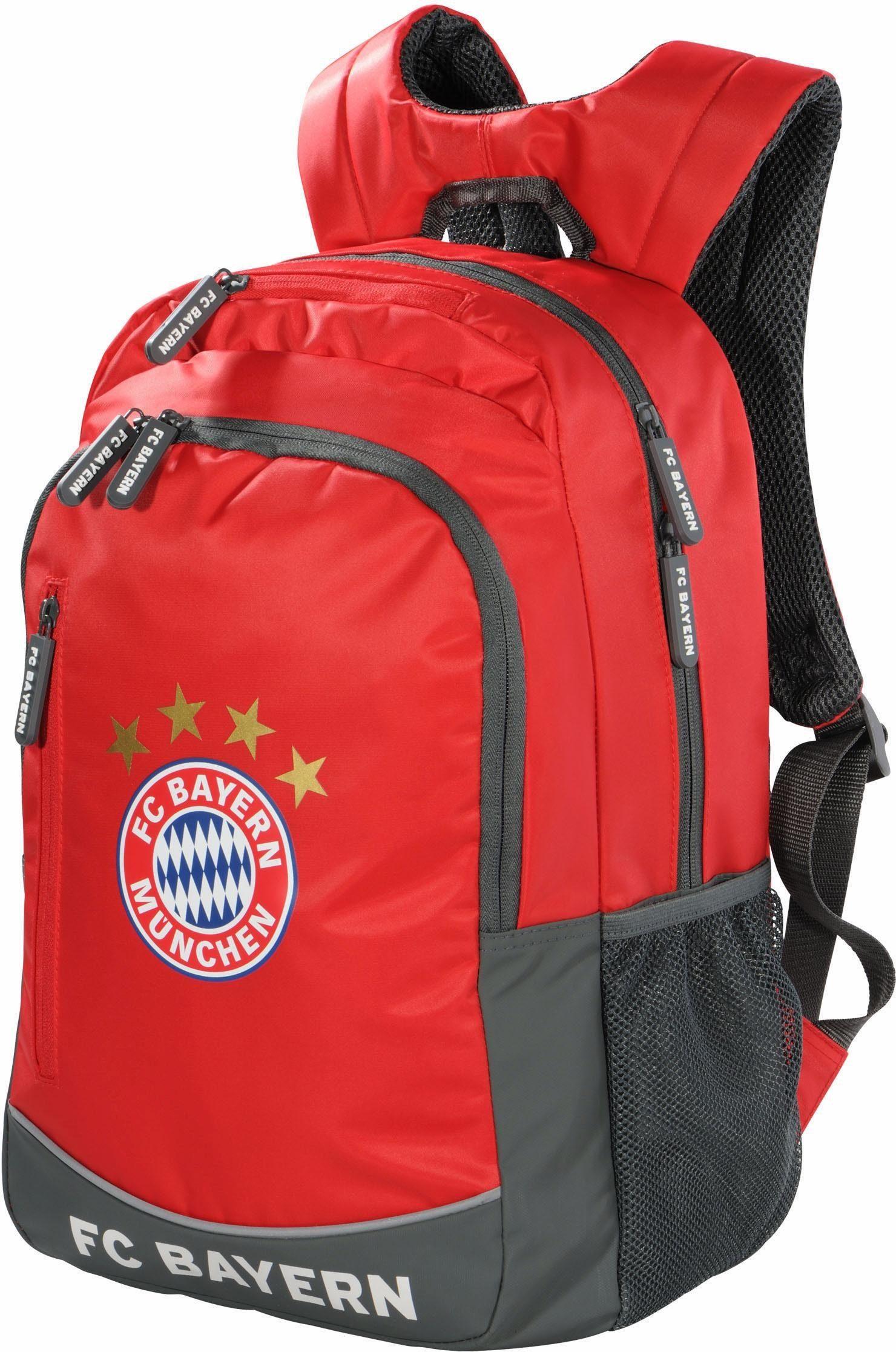 FC Bayern München Rucksack, »FC Bayern, rot«