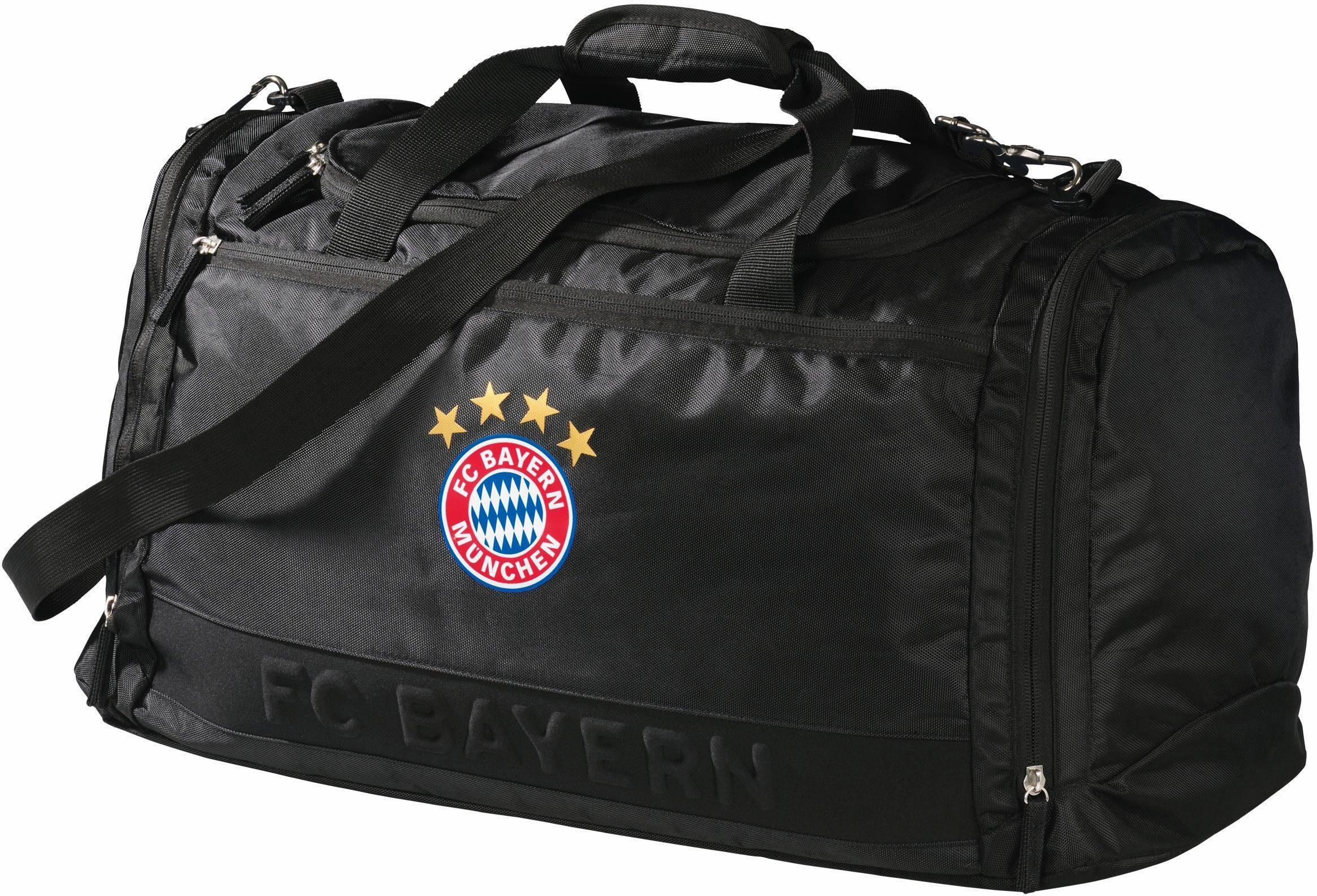 FC Bayern Sporttasche, »FCB, schwarz «