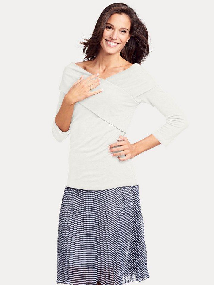 heine TIMELESS Wickelshirt 3/4-Arm | Bekleidung > Shirts > Wickelshirts | heine