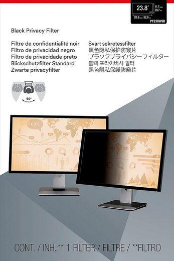 3M PF238W9B Blickschutzfilter Standard »für Desktop 60,5 cm (23,8)«