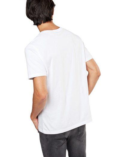 Ben Sherman Print-Shirt THE TARGET TEE