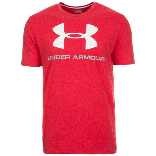 Under Armour® Trainingsshirt Heatgear Cc Sportstyle Logo