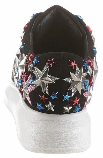 Jeffrey Campbell Sneaker, mit trendiger Sternchen-Applikation