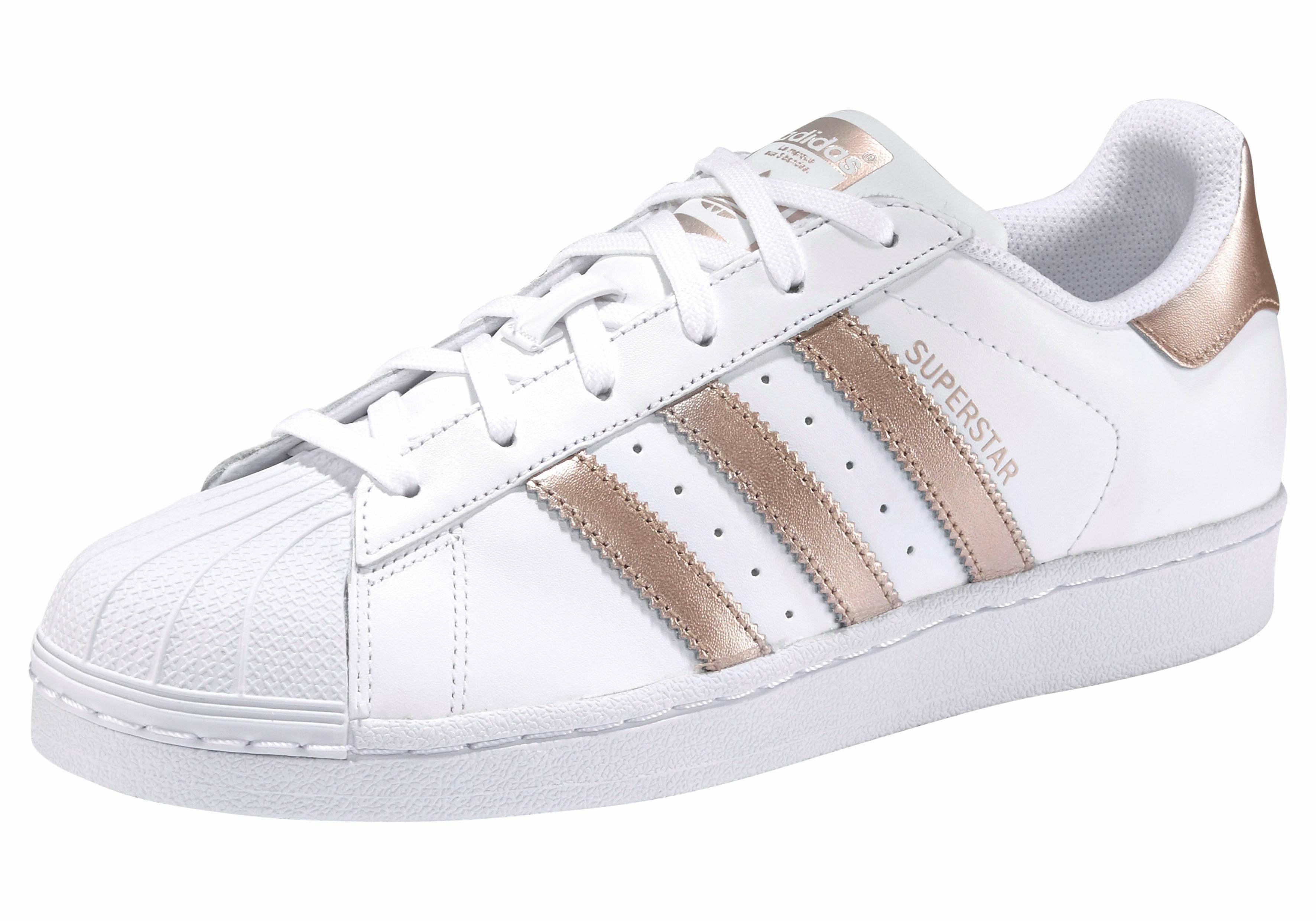 adidas Originals Wmns Superstar Sneaker kaufen  weiß-roségoldfarben