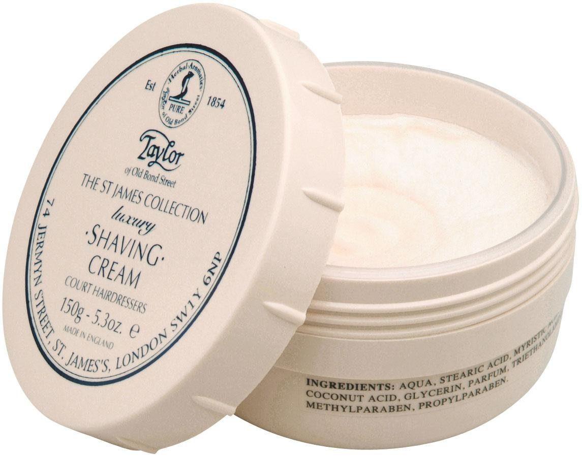 Taylor of Old Bond Street, »Shaving Cream St James Lux- Collection«, Rasiercreme