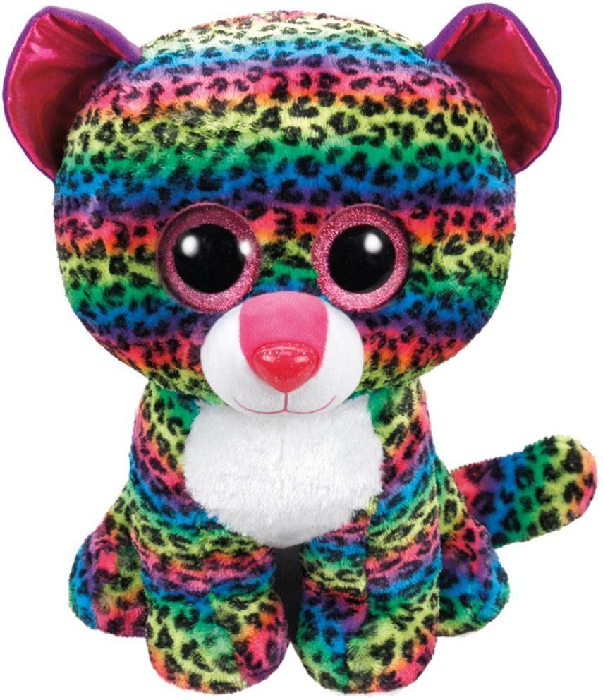 Ty Kuscheltier mit Glitzeraugen Leopard, »Beanie Boo's™ Glubschis® Dotty, 42 cm«