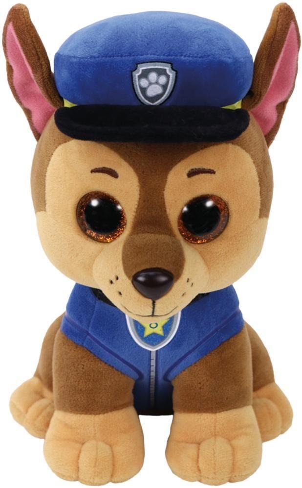 Ty Kuscheltier mit Glitzeraugen Paw Patrol, »Beanie Boo's™ Glubschis® Chase, 24 cm«
