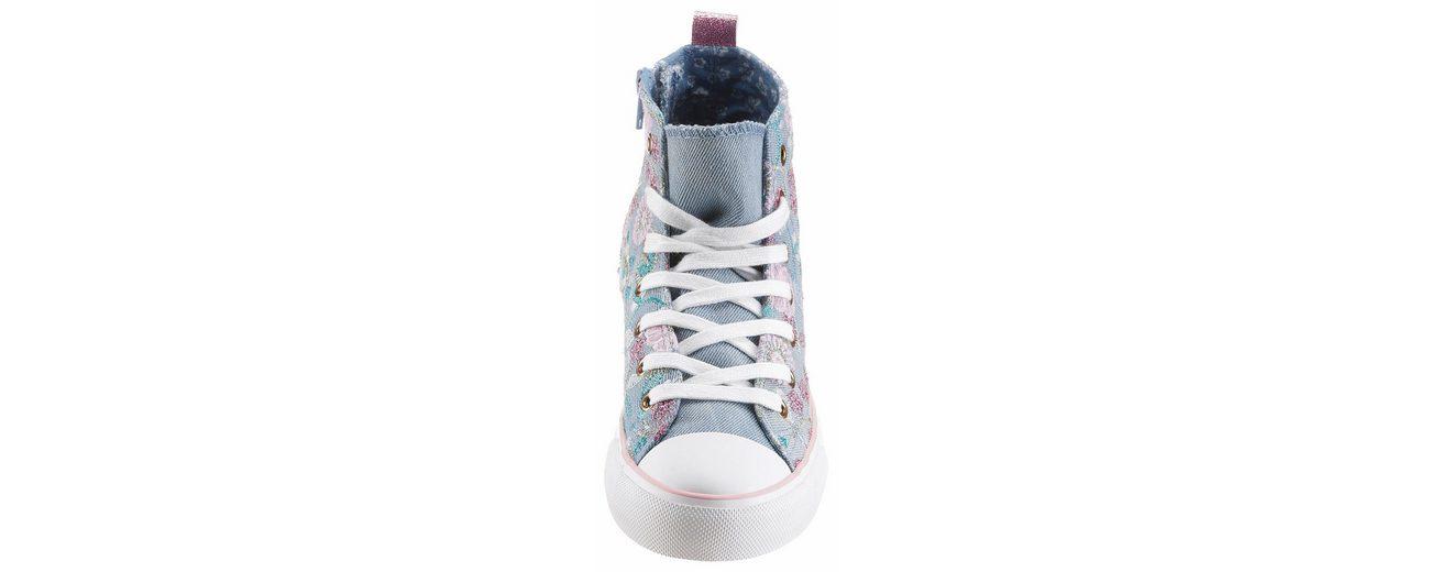 Arizona Sneaker, mit Blüten-Stickerei