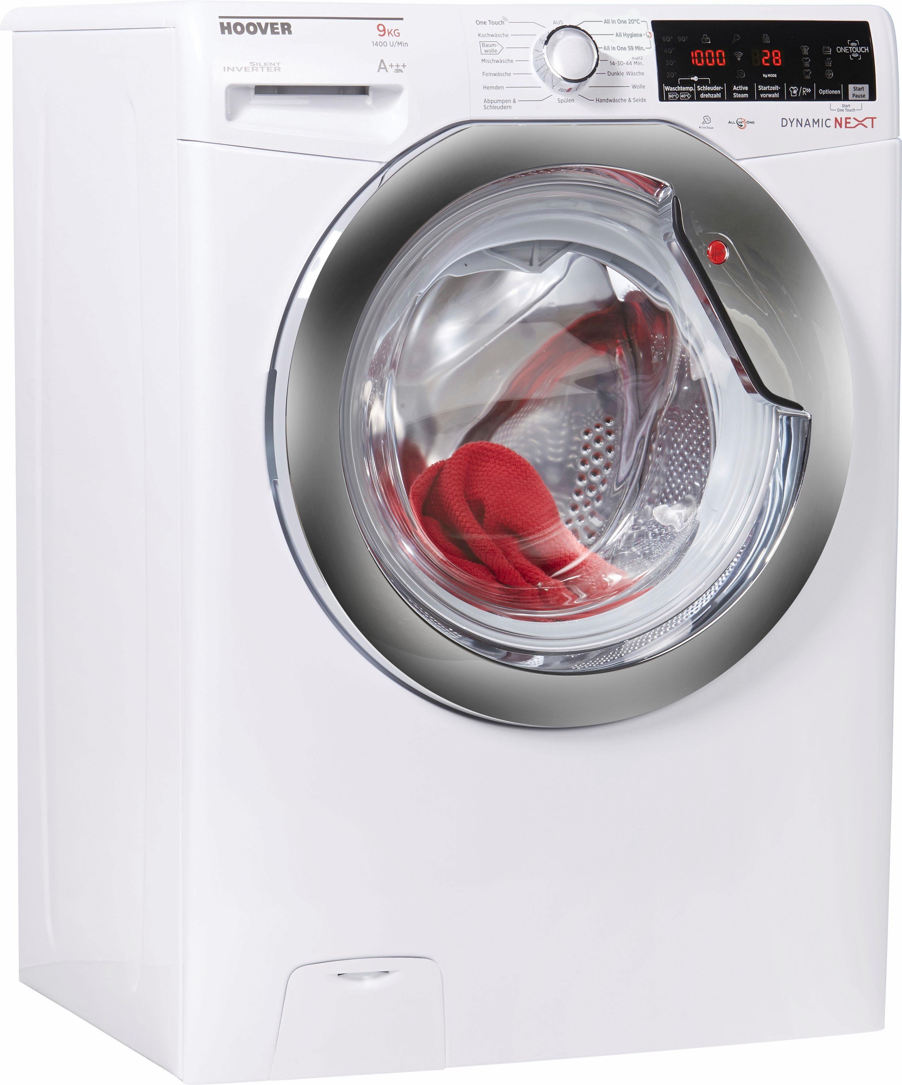 Hoover Waschmaschine DXOA G49AHC5-84, 9 kg, 1400 U/Min