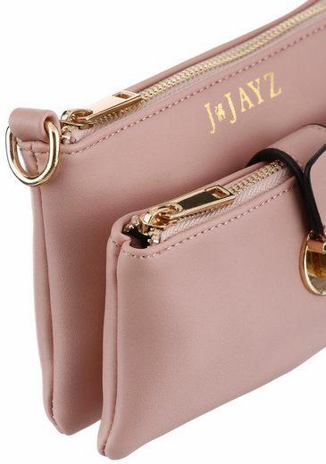 J.jayz Shoulder Bag With Gold-colored Deteails