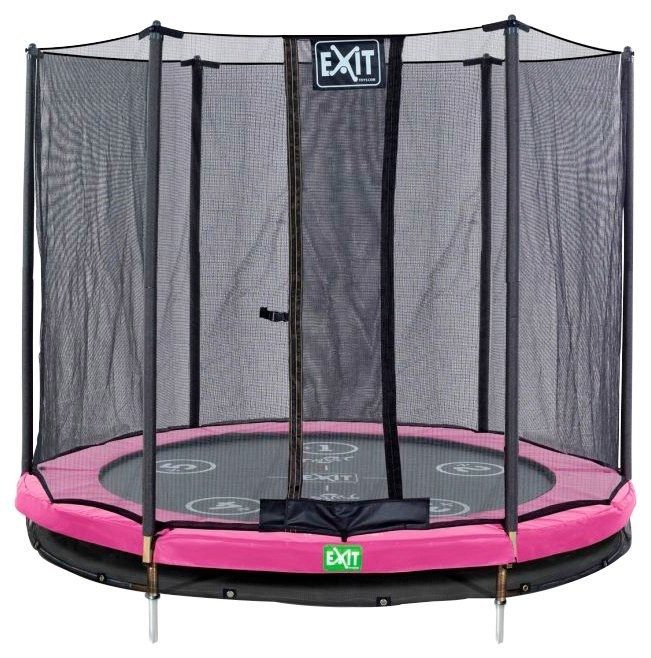 exit trampolin twist ground rosa grau 427 cm online kaufen otto. Black Bedroom Furniture Sets. Home Design Ideas
