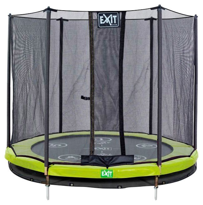exit trampolin twist ground gr n grau 305 cm online kaufen otto. Black Bedroom Furniture Sets. Home Design Ideas