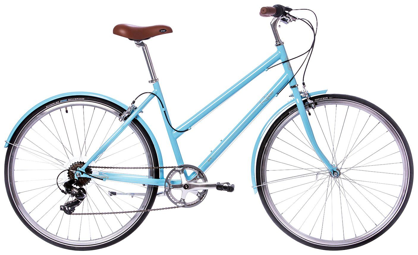 TRETWERK Citybike Damen »Retro«, 28 Zoll, 7 Gang, Felgenbremse