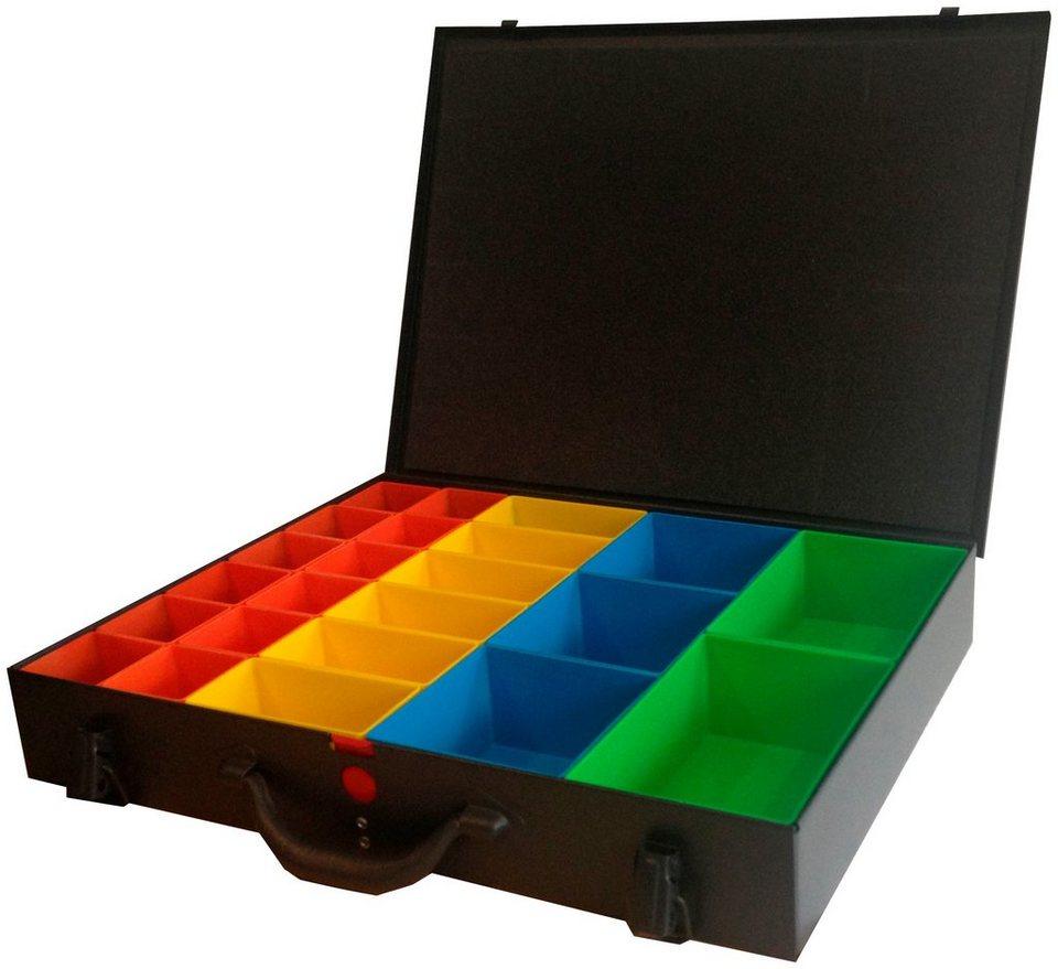 aufbewahrungsbox mit 23 boxen online kaufen otto. Black Bedroom Furniture Sets. Home Design Ideas