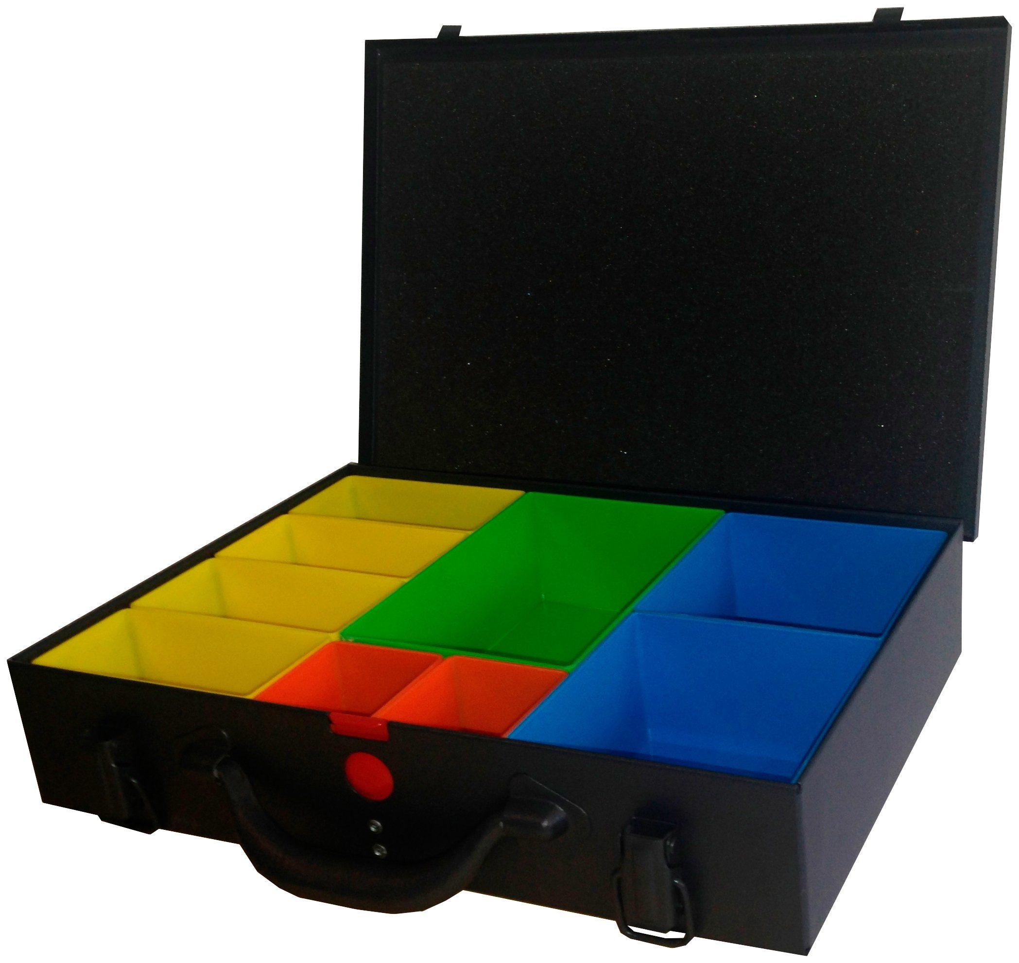 Aufbewahrungsbox , mit 9 Boxen