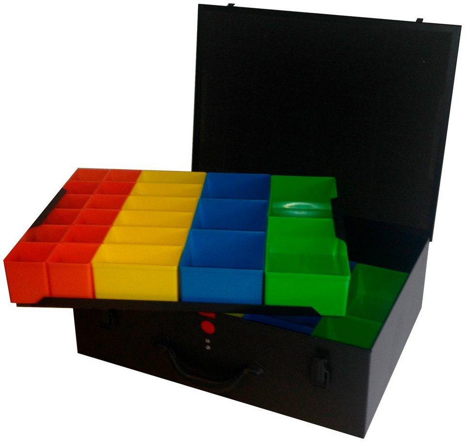 aufbewahrungsbox mit 46 boxen online kaufen otto. Black Bedroom Furniture Sets. Home Design Ideas