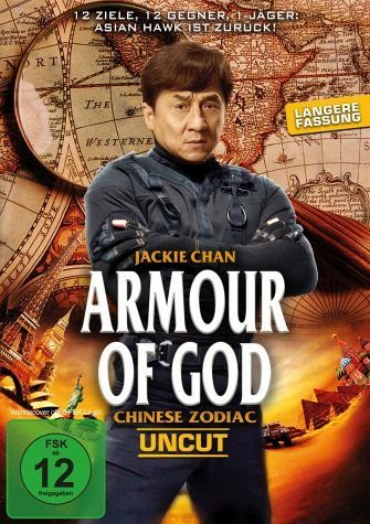 DVD »Armour of God - Chinese Zodiac (Uncut)«