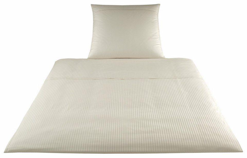 bettw sche elegante milano mit feinen streifen online kaufen otto. Black Bedroom Furniture Sets. Home Design Ideas