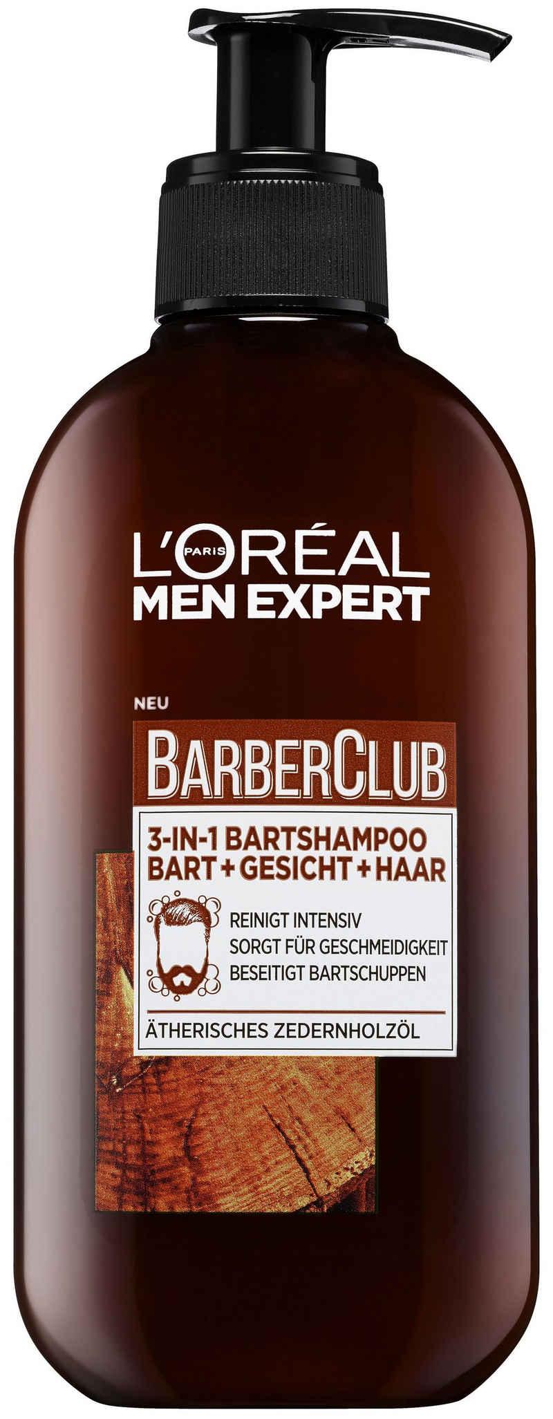 L'ORÉAL PARIS MEN EXPERT Bartshampoo »Barber Club«, beseitigt Bartschuppen & jegliche Gerüche