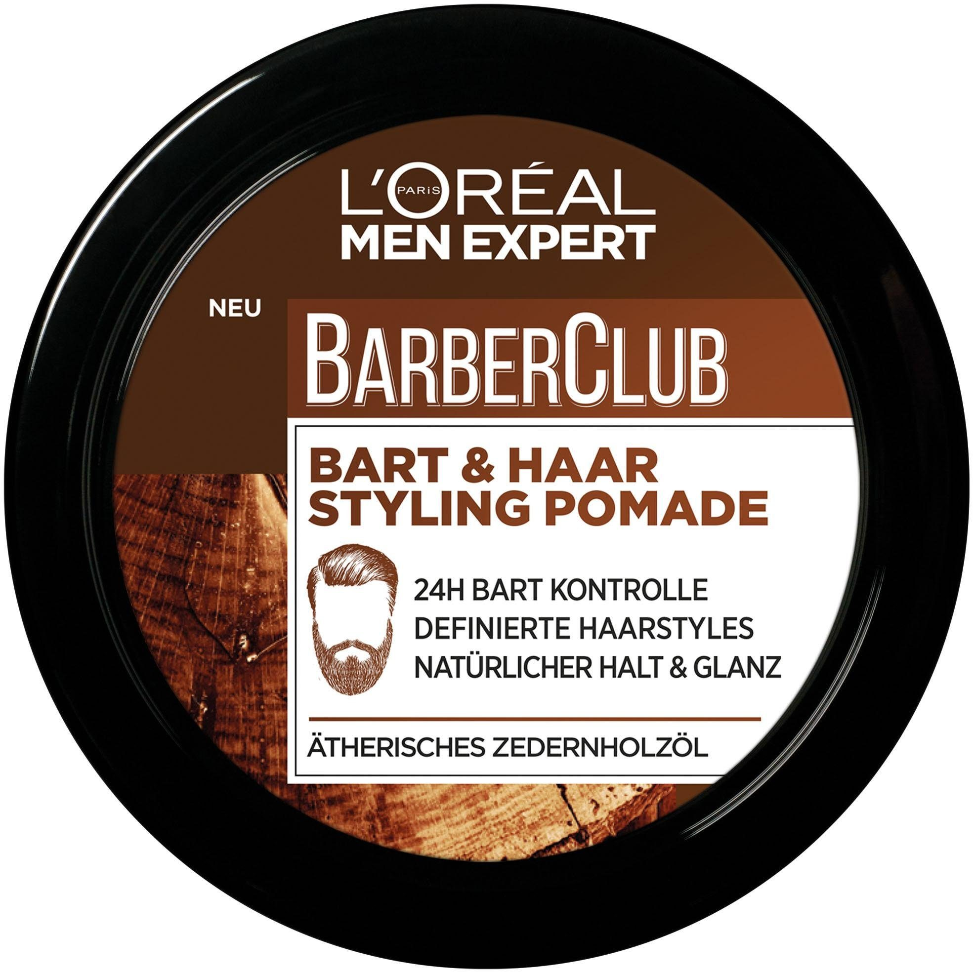 L'Oréal Paris Men Expert, »Barber Club Bart und Haar Styling Pomade«, Bartstyling