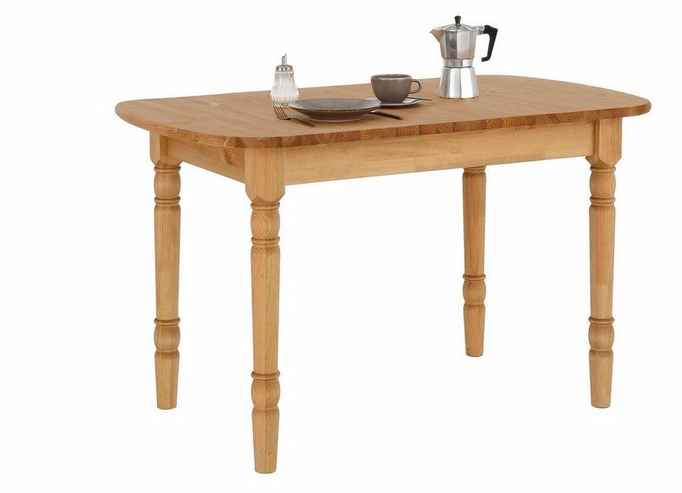 home affaire esstisch sevilia wahlweise mit oder ohne auszugsfunktion online kaufen otto. Black Bedroom Furniture Sets. Home Design Ideas